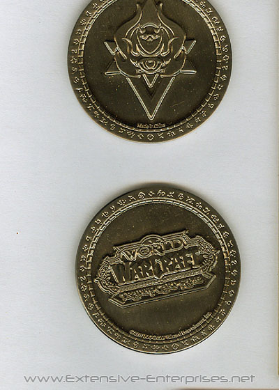 World of Warcraft Promotional Metal Coin