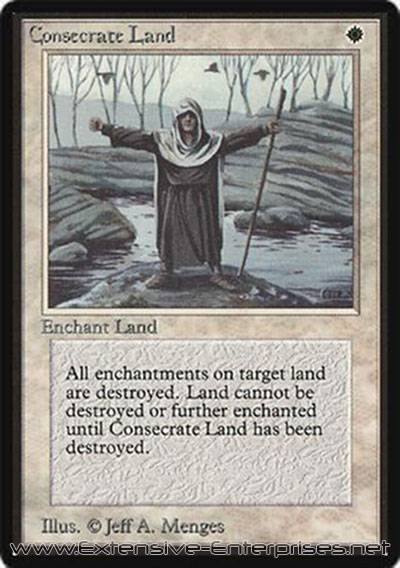 Consecrated Land