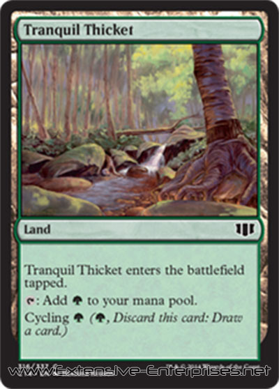 Tranquil Thicket