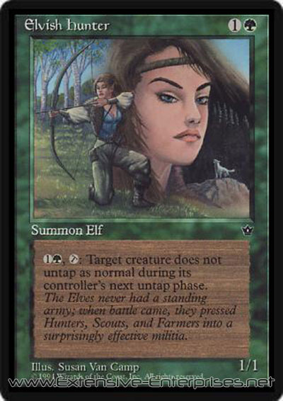 Elvish hunter (Susan Van Camp)