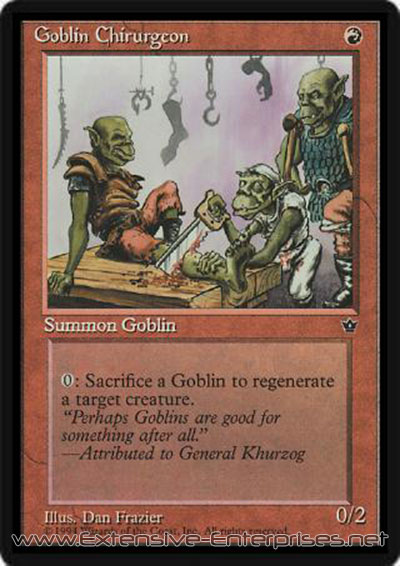 Goblin Chirurgeon (Version 3)