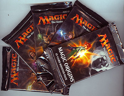Magic the Gathering Origins, Booster Pack