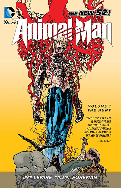 Animal Man Vol. 01: The Hunt