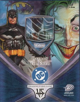 Vs System Batman vs. The Joker, 1st Edition Starter Deck