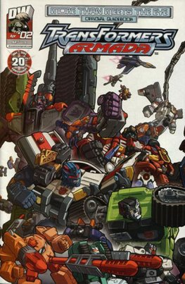 More than Meets the Eye: Transformers Armada #2