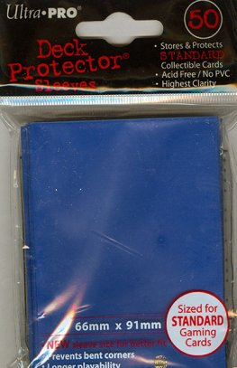 Card Sleeves, Ultra Pro: Blue (66mm x 91mm)