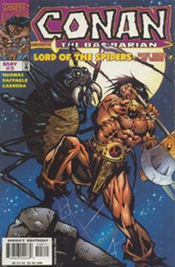 Conan: Lord of the Spiders #3