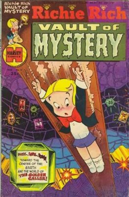 Richie Rich Vault of Mystery #3
