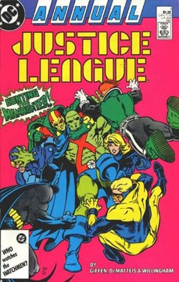 Justice League #1 (Annual)
