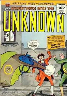 Adventures into the Unknown #131