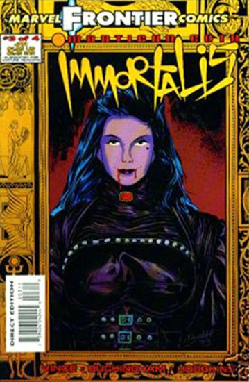 Mortigan Goth: Immortallis #3
