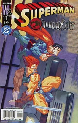 Superman / Thundercats #1 (McGuinness Variant)