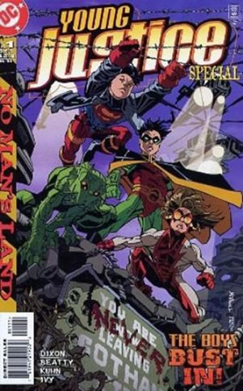 Young Justice in No Man\'s Land #1