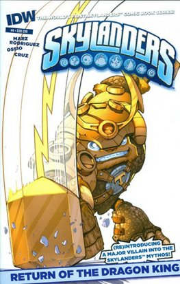 Skylanders #8 (Subscription Variant)