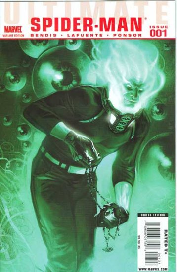 Ultimate Spider-Man #1 (Mysterio Variant Cover)
