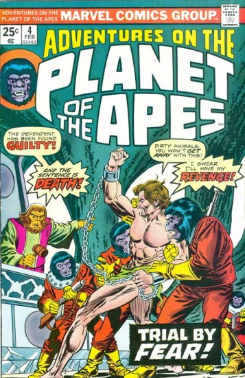Adventures on the Planet of the Apes #4