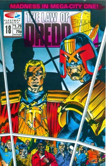 Law of Dredd, The #18