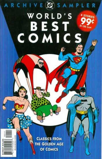 World\'s Best Comics: The Golden Age DC Archives Sampler