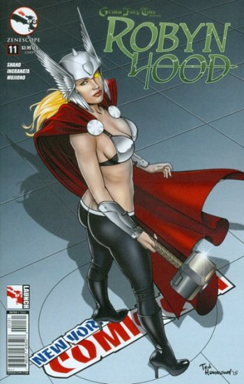 Grimm Fairy Tales Presents Robyn Hood #11 (Hammond Variant)