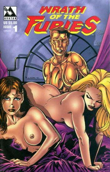 Wraith of the Furies #1 (Nude Cover)
