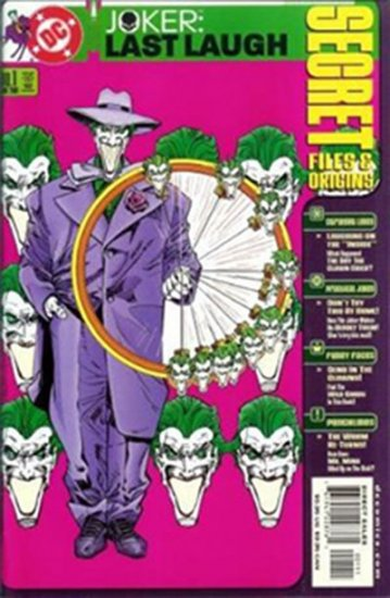 Joker: Last Laugh Secret Files #1