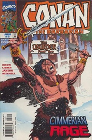 Conan the Barbarian: The Usurper #2