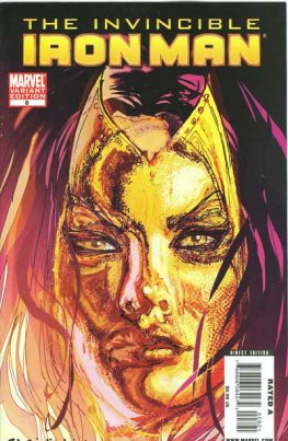 Invincible Iron Man, The #8 (1in10, Madame Masque Incentive)