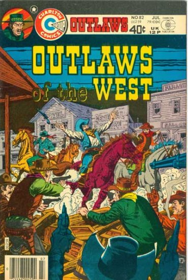 Outlaws of the West #82