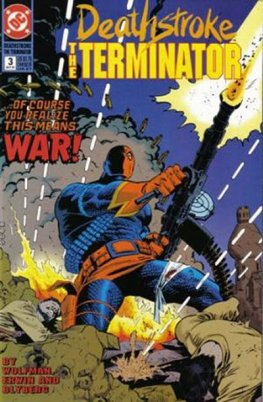 Deathstroke, The Terminator #3