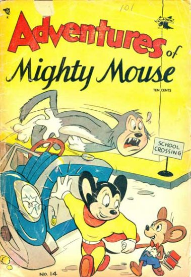 Adventures of Mighty Mouse #14