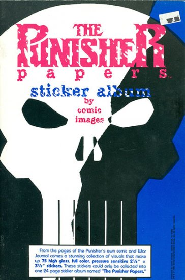 Punisher Papers Sticker Album, The