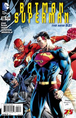 Batman / Superman #18 (Flash Anniversary Variant)