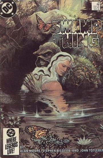Saga of the Swamp Thing, The #34