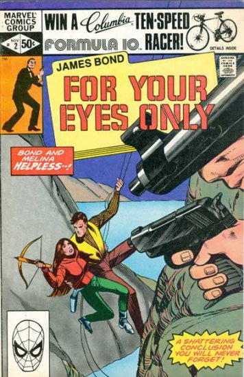 James Bond: For Your Eyes Only #2