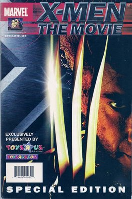 "X-Men: The Movie #1( Wolverine Toys ""R"" Us Variant)"