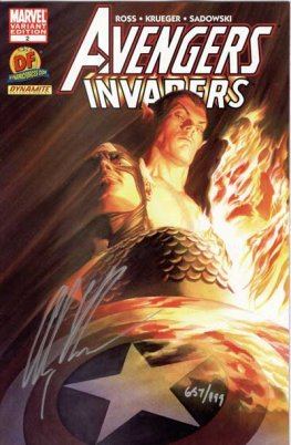 Avengers / Invaders #2 (Signed by Alex Ross)