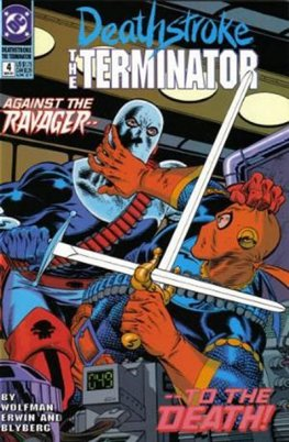 Deathstroke, The Terminator #4
