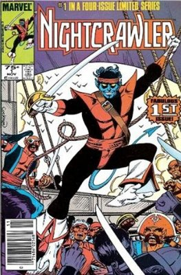 Nightcrawler (Complete Series #1-4)