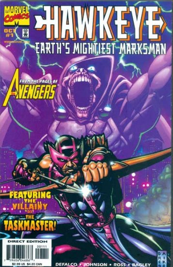 Hawkeye: Earth\'s Mightiest Marksman #1