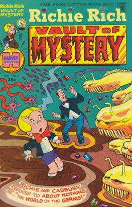 Richie Rich Vault of Mystery #4