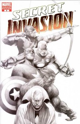 Secret Invasion #2 (1 in 75, Steve McNiven Cover)