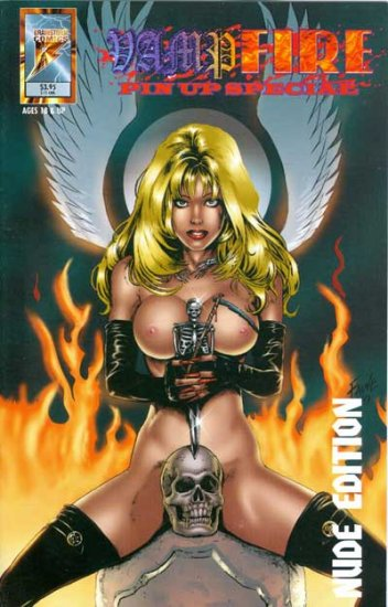 VampFire: Pin-Up Special (Nude Cover)