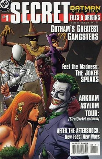 Batman Villains Secret Files #1