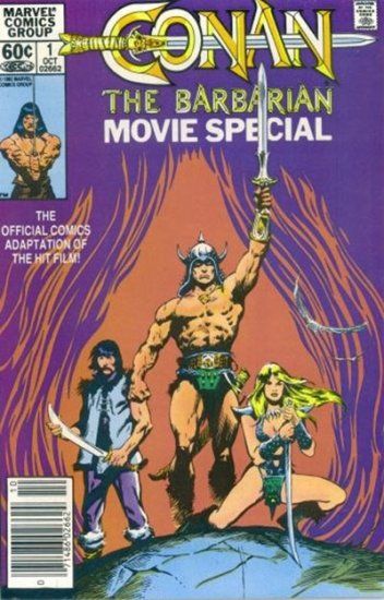 Conan the Barbarian Movie Special #1
