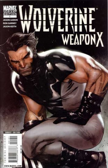 Wolverine Weapon X #1 (Coipel Cover, 1in20)