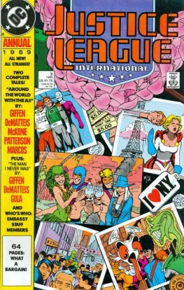 Justice League International #3 (Annual)