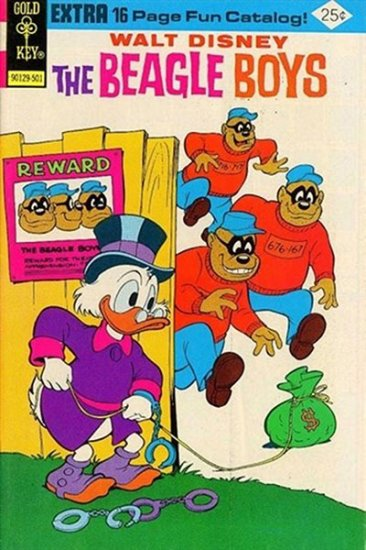 Walt Disney the Beagle Boys #23