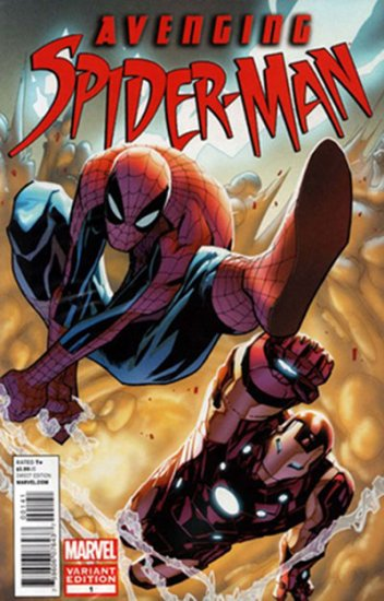 Avenging Spider-Man #1 (Poly Bagged, Ramos Variant)
