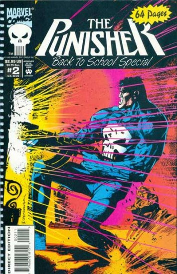 Punisher Back to School Special #2