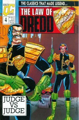 Law of Dredd, The #4